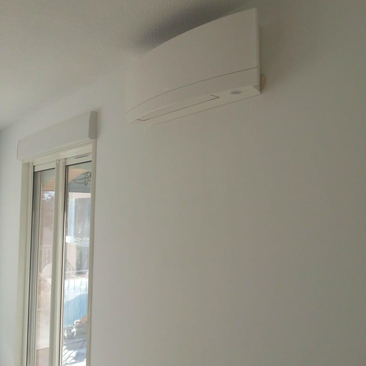 installation d 39 une climatisation r versible dans une villa varoise climatisation paris et. Black Bedroom Furniture Sets. Home Design Ideas