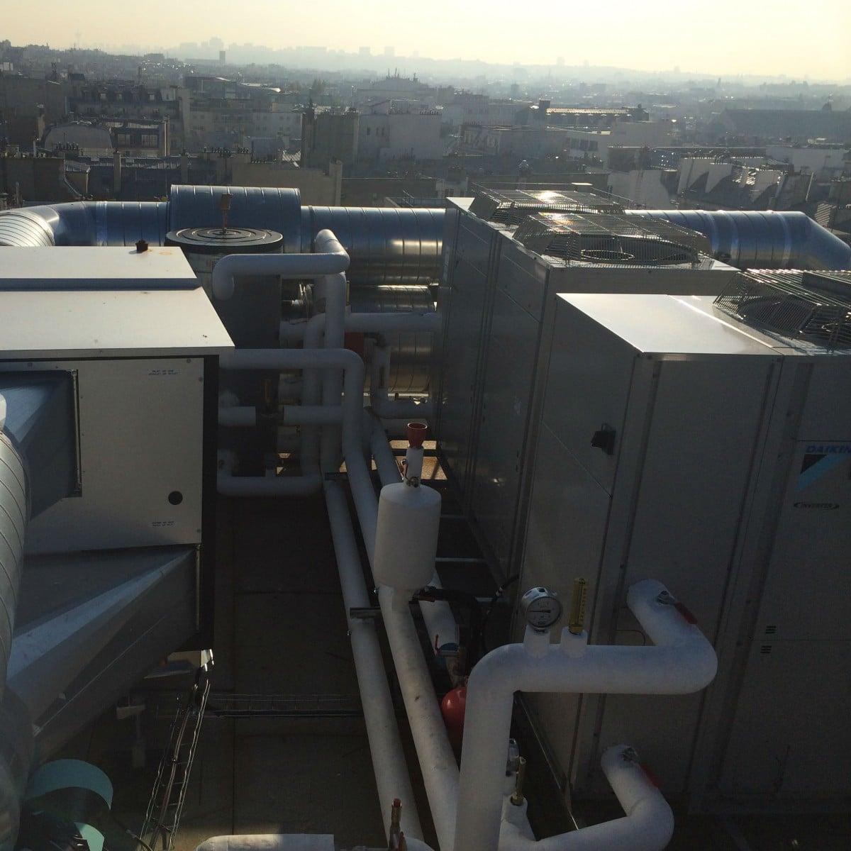 Centrale de traitement de l'air professionnelle