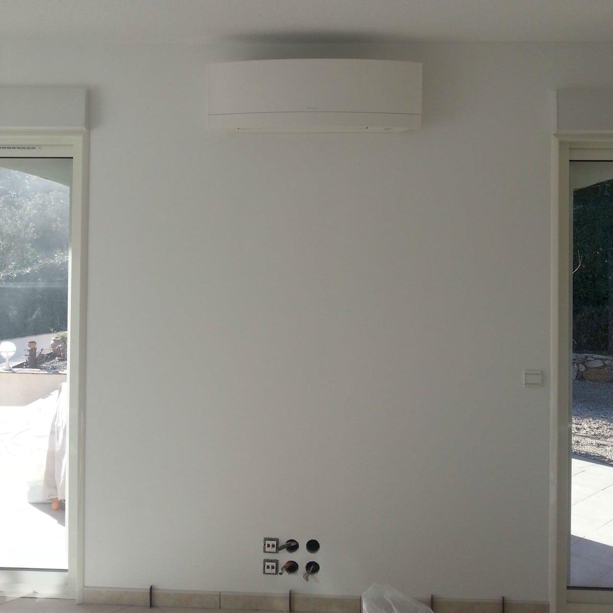 Installation d'une Climatisation Réversible dans une Villa Varoise